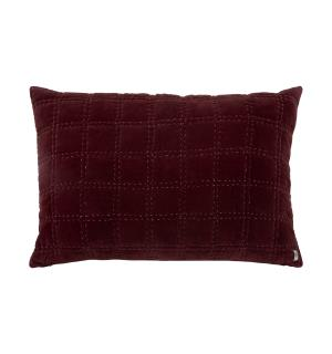 Borås Cotton Bordeaux putetrekk 70x100 Burgundy